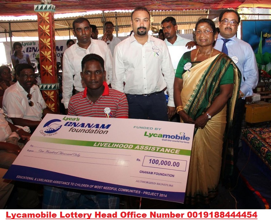 Lycamobile Prize Winner